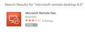 App store RDC